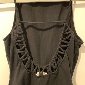 La Hearts Tops - Pac Sun Low Back Cut-Out Bodysuit